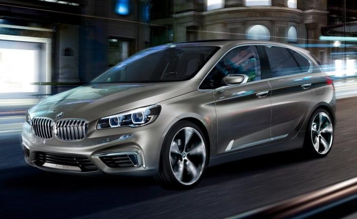 A BMW divulgou nesta sexta-feira (14) imagens de seu primeiro carro de tração dianteira na história. Chamado de Active Tourer Concept, o hatch antecipa o p...