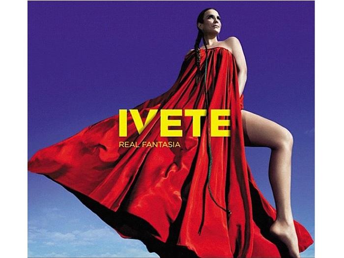 Ivete Sangalo divulgou, neste sábado (22), a capa de seu novo álbum