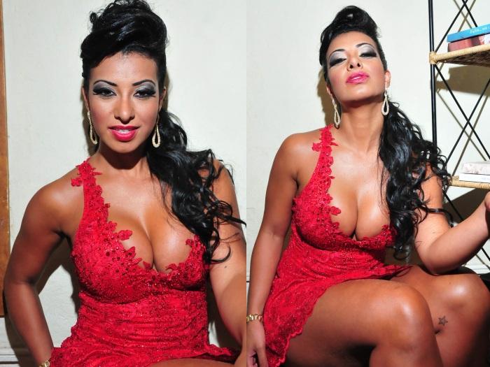 Cinthia Santos não quer mais preservar o corpão: vai mostrar tudo em
