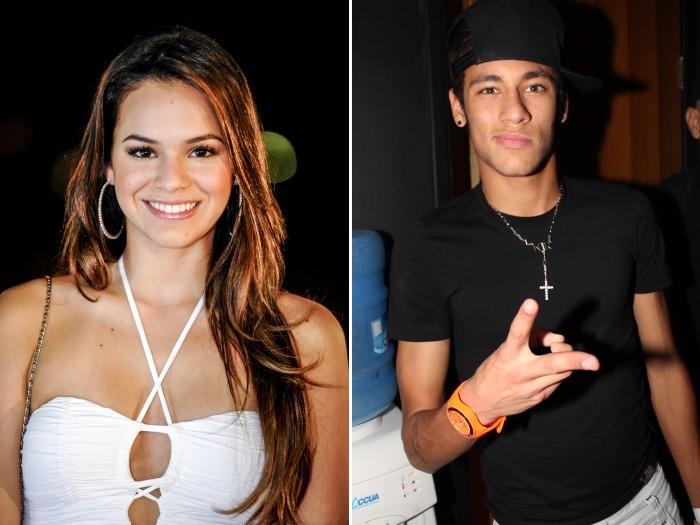 Bruna e Neymar