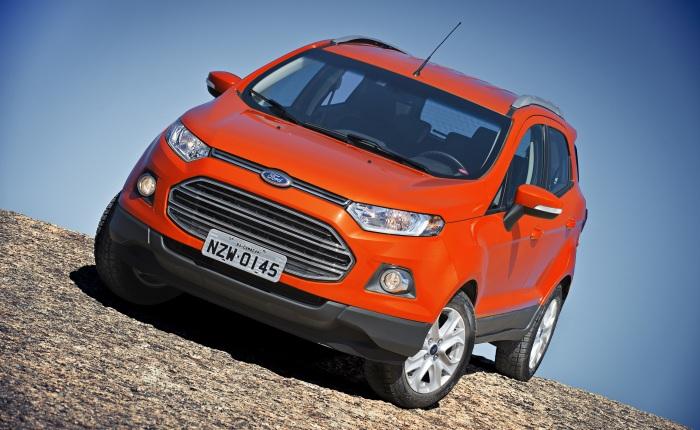 Ford Novo EcoSport (etanol/gasolina): 7/10,2 (cidade) e 8,4/12,2 km/l (estrada)