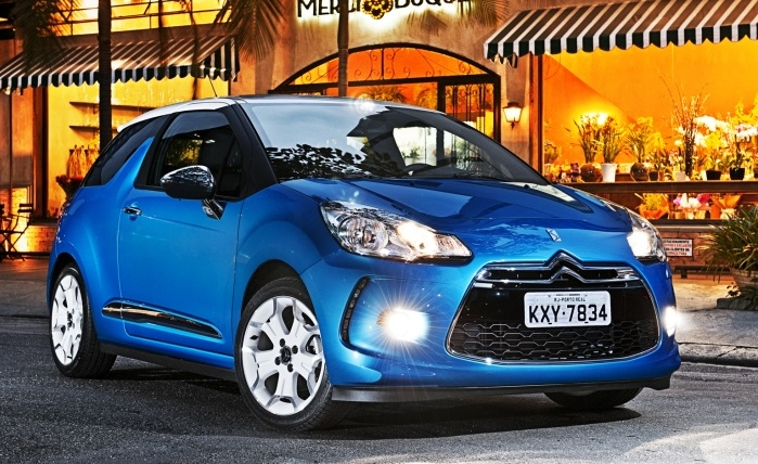 Citron DS3 THP Sport Chic 1.6 (gasolina): 11,3 km/l(cidade) e14,4 km/l (estrada)