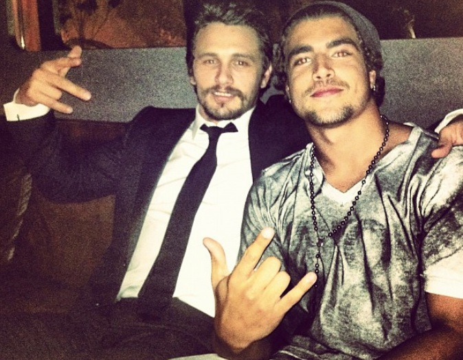 Caio Castro e James Franco