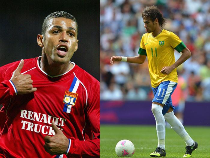 Sonny Anderson e Neymar