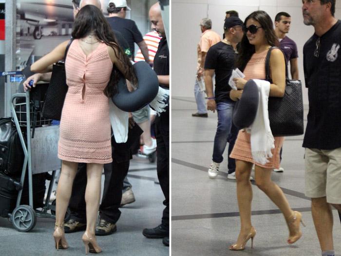 Ops! Ísis Valverde é flagrada com o vestido aberto - Moda e Beleza ...