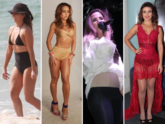 Paula Fernandes não é a única! Veja famosas que usam calçola ...