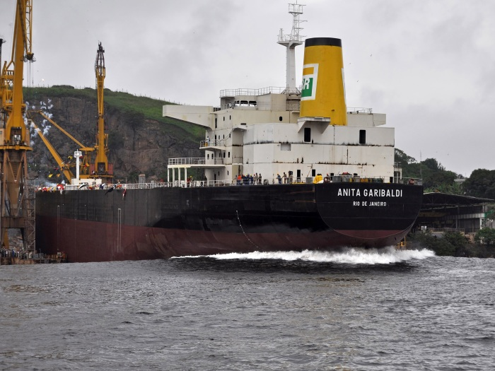 Navio Anita Garibaldi - Petrobras - Minha Laguna