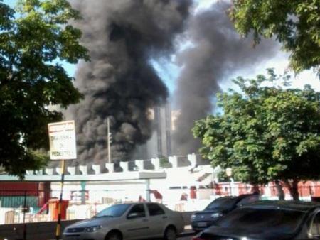 Incêndio Flamengo