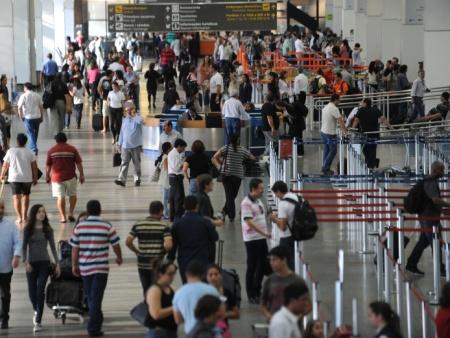 94 mil passageiros vão passar pelo Aeroporto de Brasília  antes do Natal