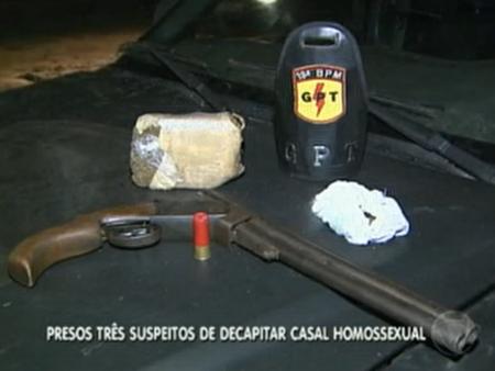 Três são presos suspeitos de decapitar e queimar casal de homossexuais no Entorno do DF