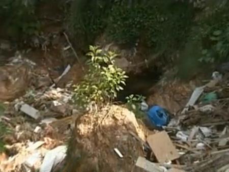 Cratera ameaça casa em cidade do Entorno do DF