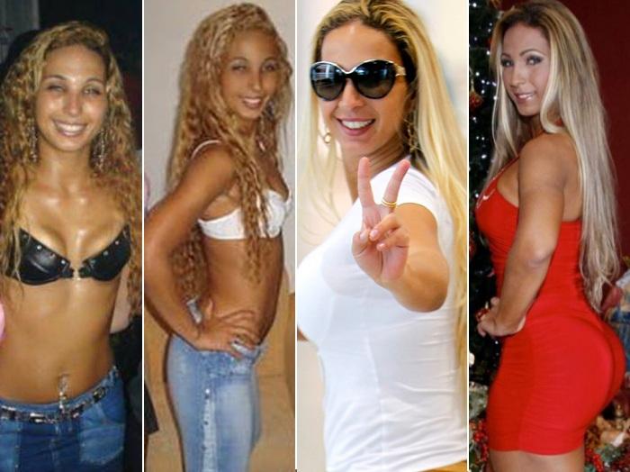 Cabelos dos famosos antes e depois da fama - Patricinha
