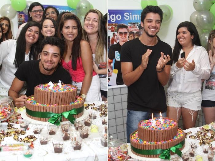 Rodrigo Simas ganha festa surpresa de fãs (Anderson BordeAgNews)