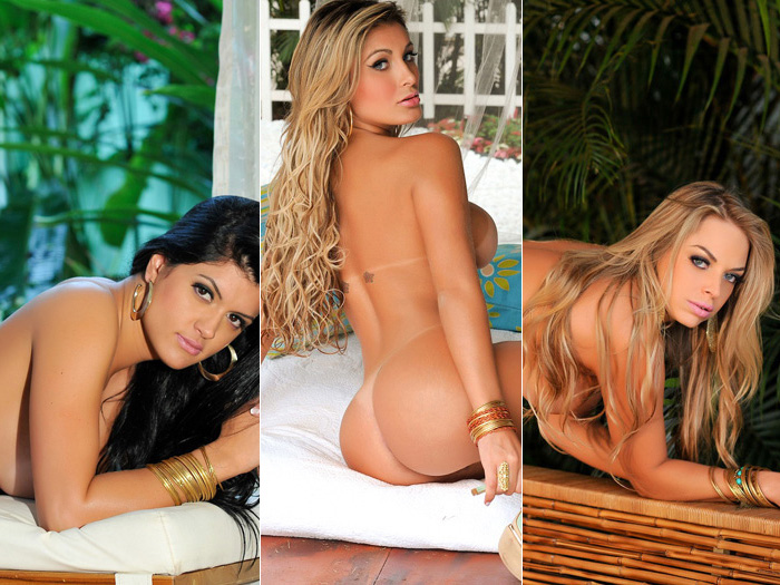 Donas dos bumbuns mais bonitos do pa&iacute;s posam para calend&aacute;rio ...