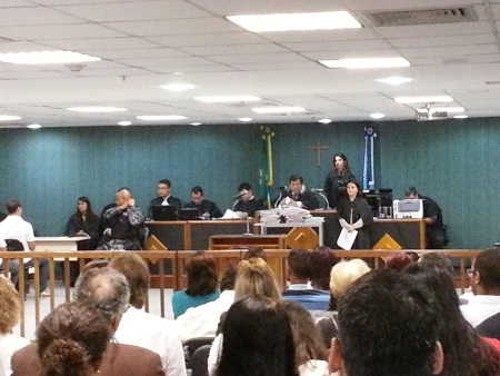 Julgamento juíza