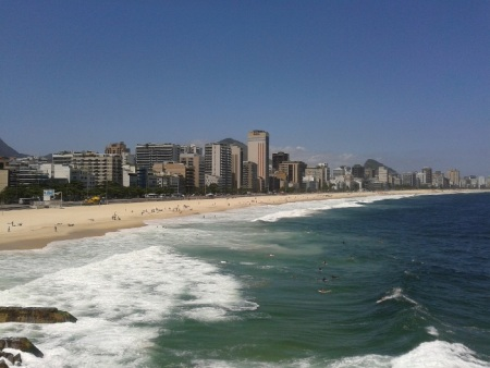 Na véspera do Carnaval, Rio tem 11 praias liberadas para banho