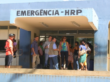 Feto foi encontrado no vaso de um dos banheiros do HRP (Hospital Regional de Planaltina)
