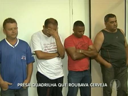Funcionários de atacadista são acusados de integrar quadrilha que roubou R$ 228 mil em cerveja