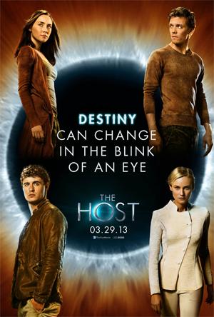 Poster mostra personagens principais de A Hospedeira