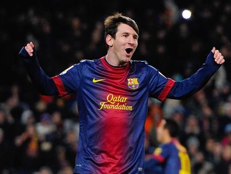 Barcelona vence com gol de Messi
