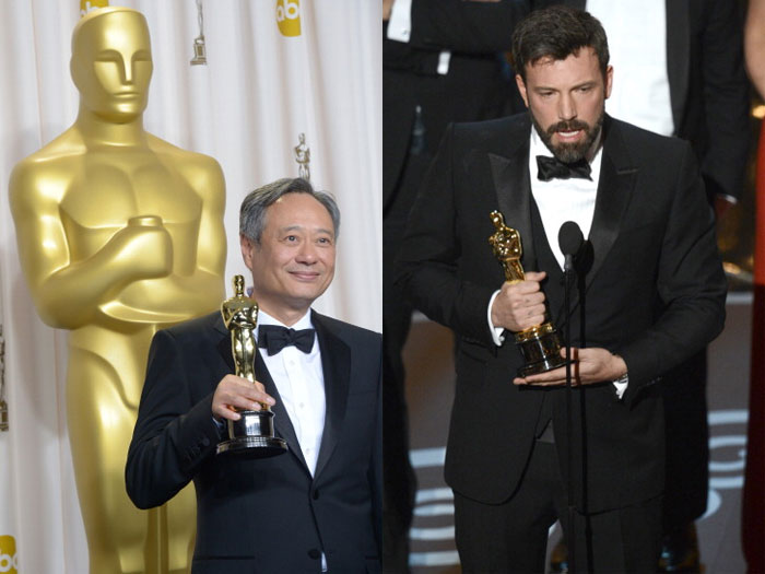 Argo e Ang Lee s&atilde;o os grandes vencedores do Oscar 2013 ...