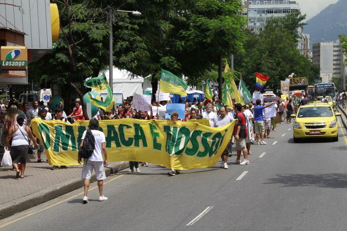 maracanã, protesto, 700