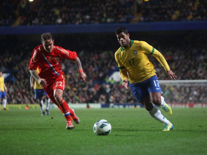 """Hulk afirma que Brasil poderia ter vencido a Rússia: """"Gol de empate saiu muito tarde"""""""