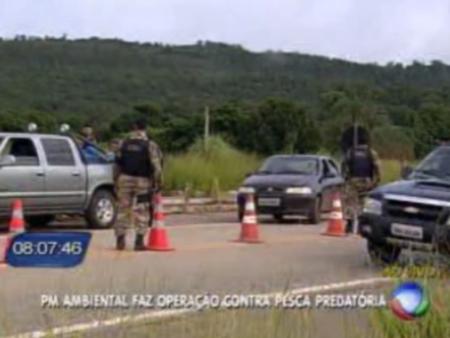 Operação pescado Polícia Militar Ambiental