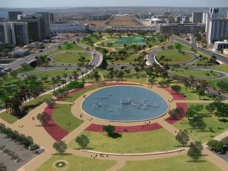 Jardim de burle marx vai mudar a cara do eixo monumental for O jardins d eglantine