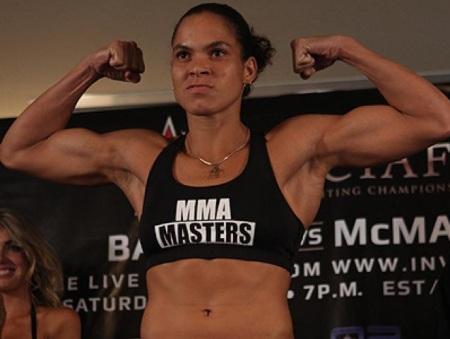 Única brasileira no UFC, Amanda Nunes mira cinturão de Ronda ...