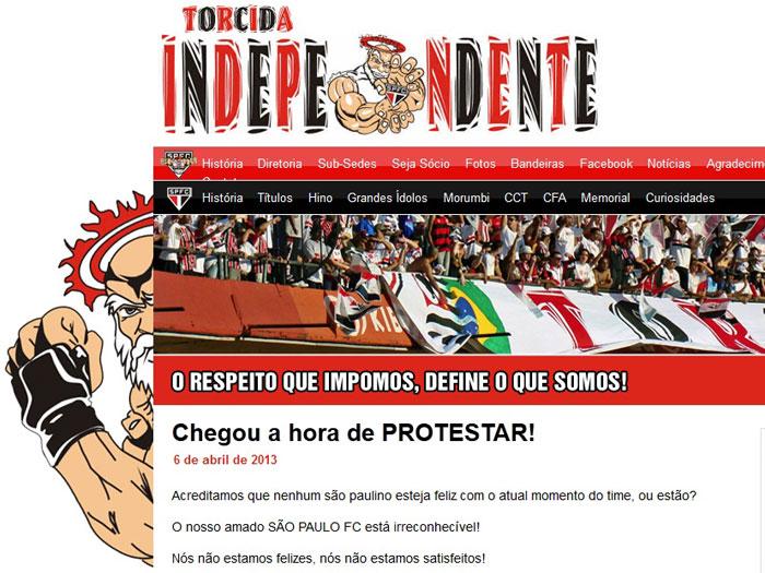 protesto independente