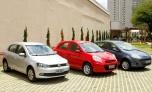 VW Gol enfrenta Fiat Palio e Nissan March em um comparativo de 1.0
