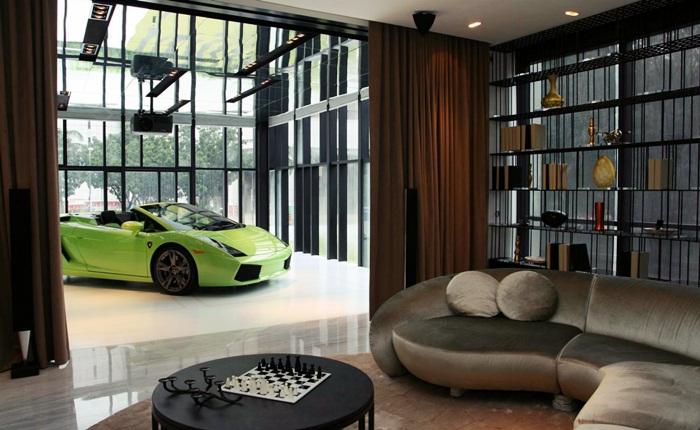 As cenas a seguir não são de um apartamento qualquer. O Hamilton Scotts, em Singapura, é o supra-sumo dos ricaços. Um arranha-céu de 30 andares com unidade...