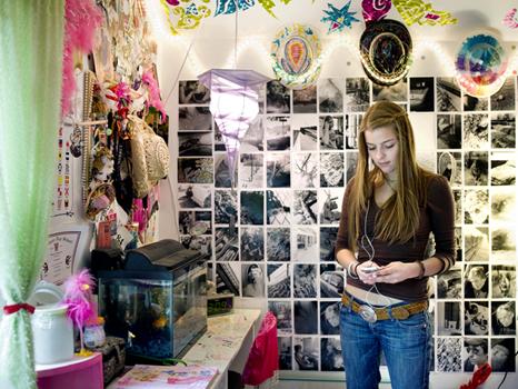 Fot grafa retrata adolescentes em seus quartos nos eua e no oriente m dio jovem r7 for Meisje slaapkamer fotos