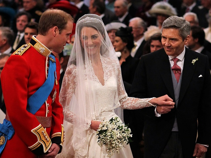 william, kate, michael, altar