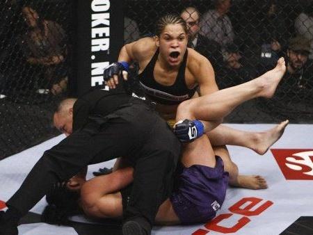 Promessa brasileira no MMA feminino, Amanda Nunes é ...