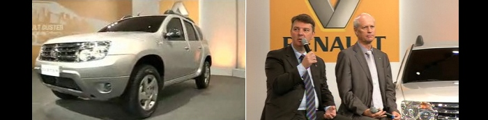 Renault Duster chega em novembro com versões 4x2 e 4x4 - Carros