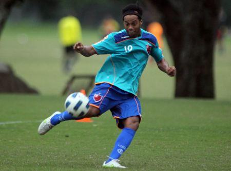 Ronaldinho 450 Flamengo