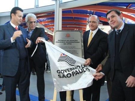 Alckimin inauguração Metrô