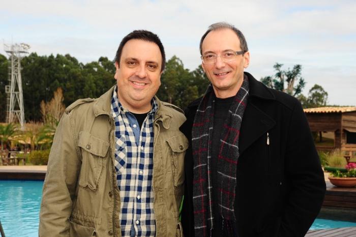 Britto Jr. e Antonio Chahestian