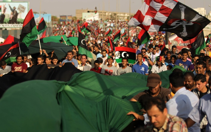 Protesto-Benghazi
