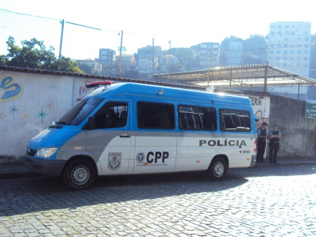 Ônibus da PM