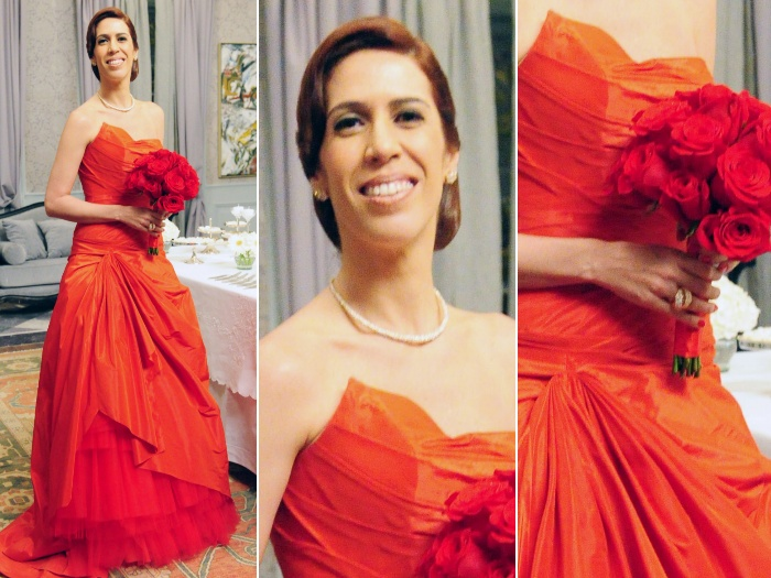 Bibi - vermelho vestido