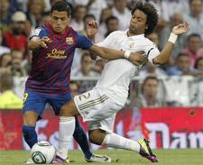 Real e Barça empatam no primeiro jogo da Supercopa da Espanha