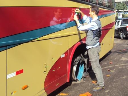 ônibus assalto