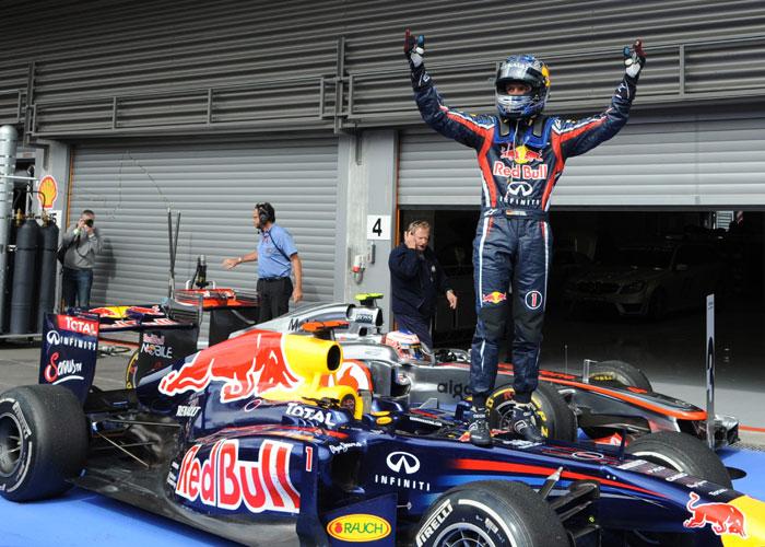 Vettel vence corrida movimentada na Bélgica; brasileiros vão mal ...