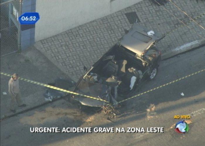 Audi acidente