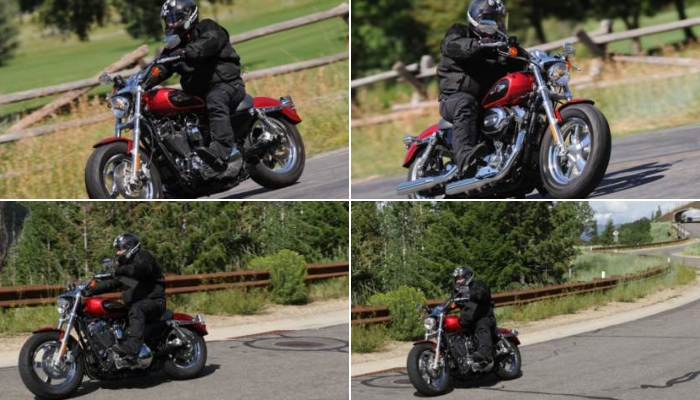 Harley XL 1200 montagem