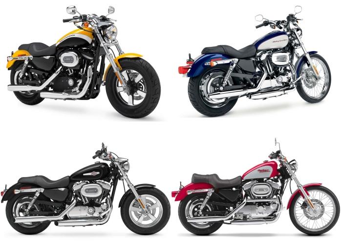 Harley XL 1200 montagem 2 G