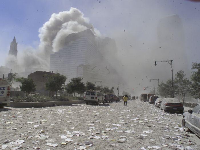 Escombros 11 de setembro